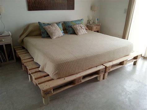 colchones 2x2 cama rustica sommier de pallet dise 241 o y calidad
