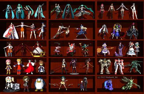 figure collection anime figure collection by nitehawk ltd on deviantart