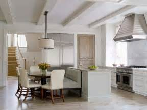 Pottery Barn Kitchen Island banquettes how to get the look with a sofa loveseat or