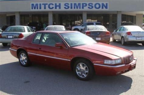 purchase used 1995 cadillac eldorado coupe chrome wheels sunroof needs work in cleveland