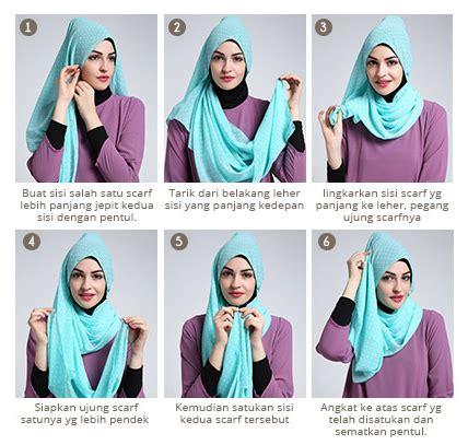 tutorial jilbab pashmina satin tutorial kerudung pashmina cantik model satin