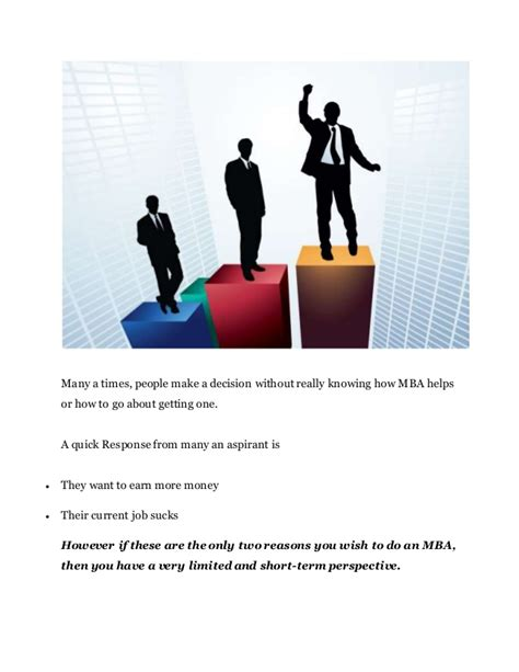 Why Mba Responses by Why An Mba