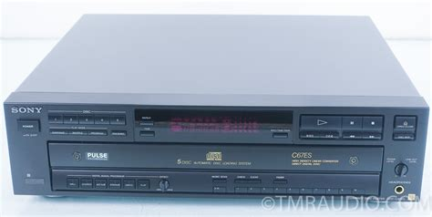 sony cdp 67es 5 disc cd player the music room