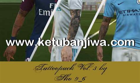 tattoo pack pes 2018 pes 2018 tattoo pack v3 by sho9 6