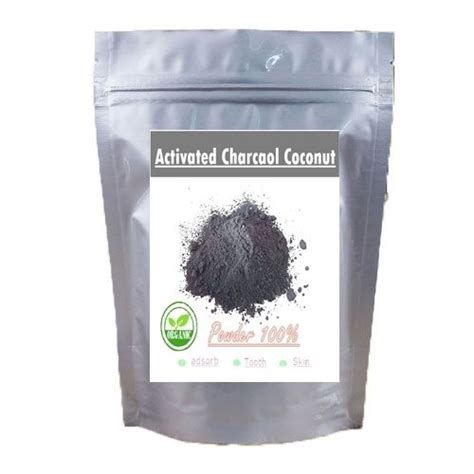 Activated Coco Charcoal Powder 50 Gram 500 Gram Activated Charcoal Coconut Carbon Organic Shell