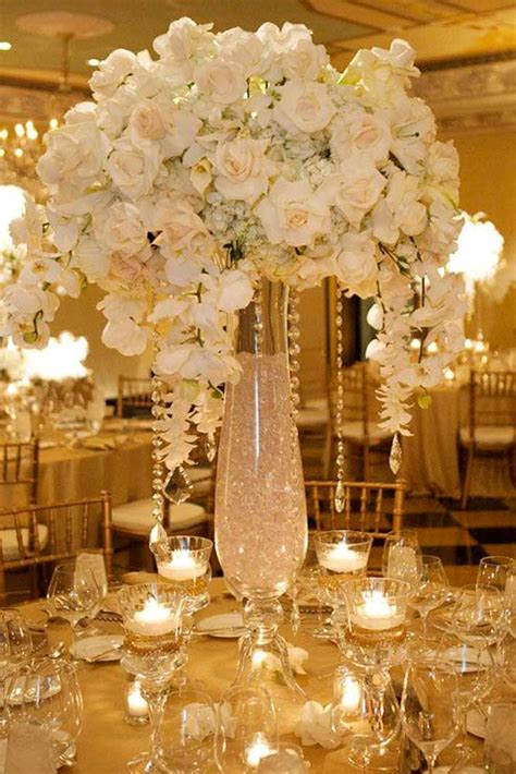 white flower wedding arrangements wedding flower decoration ideas photo pic images on