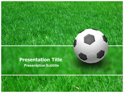 free soccer powerpoint template football gamestemplates for powerpoint football