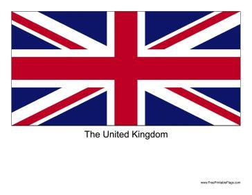 United Kingdom Outline Flag by Flag Of United Kingdom