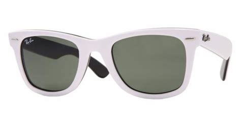 black and white ray ban wayfarers ray ban wayfarer 2140 white on black 171 sunglasses finder
