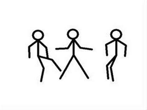 3 Man Stick Figure Dance   YouTube