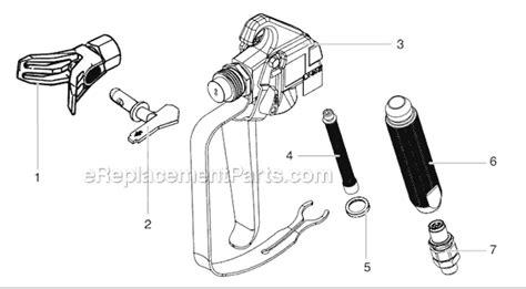 Spare Part Xenia Xi titan xi445 parts list and diagram ereplacementparts