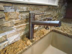 Stacked Stone Kitchen Backsplash Stacked Stone Backsplash Google Search Bathroom Ideas