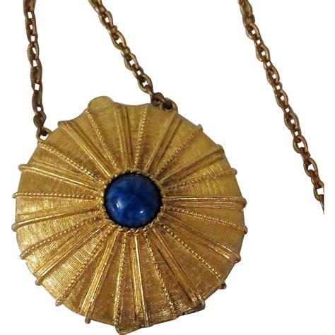 estee lauder empire solid perfume pendant from
