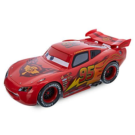 Lighting The Mcqueen Car To Play Disney Pixar Cars Lighting Mcqueen Drifting Remote Car