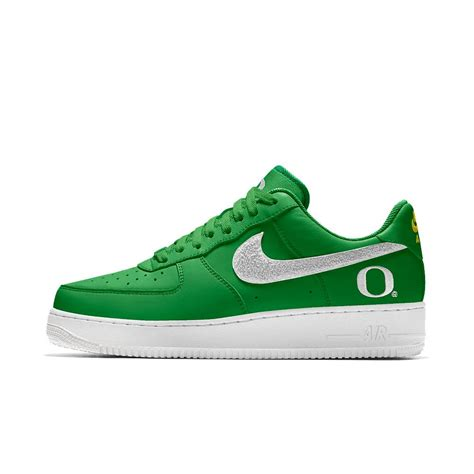 nike college shoes nike air 1 low college id s shoe in green for