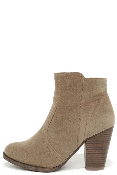 beige boots suede boots ankle boots booties