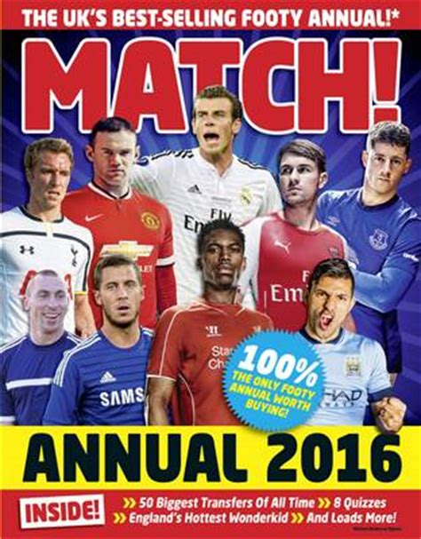 match annual 2016 from match annual 2016 by match waterstones