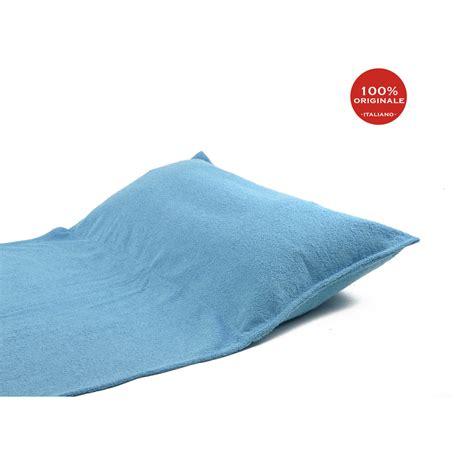 con il cuscino camilla telo mare con cuscino turchese spugna shop