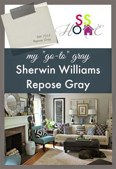southern state of mind my go to gray paint color repose gray diy rock