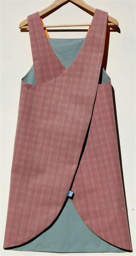 free pattern japanese apron reversible japanese crossover back apron in waterproof
