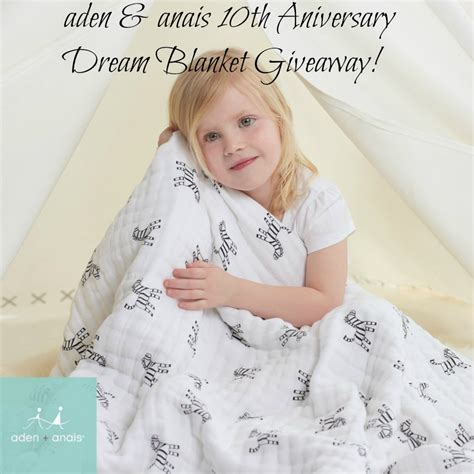 Aden And Anais Giveaway - aden and anais 10th anniversary giveaway born 2 impress