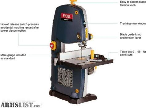 table top band saw armslist for sale trade ryobi table top band saw with