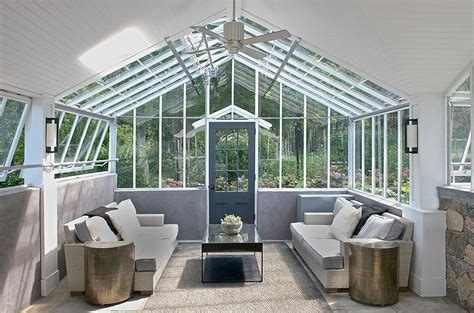 modern sunroom modern sunroom with vaulted glass ceiling modern deck