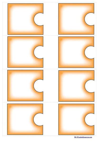Self Correcting Editable Puzzle Templates K 3 Teacher Editable Puzzle Pieces