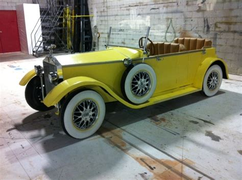 The Great Gatsby Yellow Rolls Royce From The Canadian