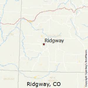 ridgway colorado map best places to live in ridgway colorado