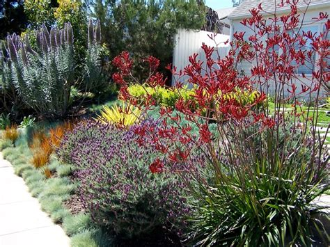 English Garden California Style Traditional Landscape Flower Gardens In California