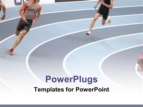 powerpoint templates running powerpoint template a couple of athletes running on the