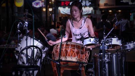 drummer miso kim drum solo jazz trio