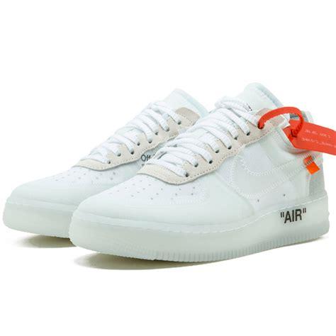Nike Air White white x nike air 1 low white