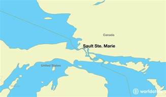 sault ste canada map where is sault ste on where is sault ste