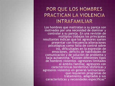 por que los hombres 9681341600 violencia intrafamiliar en colombia