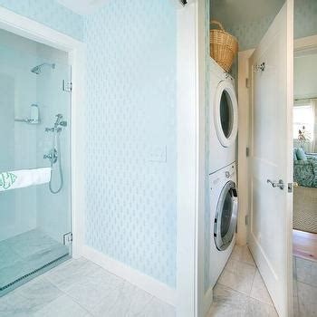 Shower With Dryer by Washer And Dryer In Bathroom Cottage Laundry Room