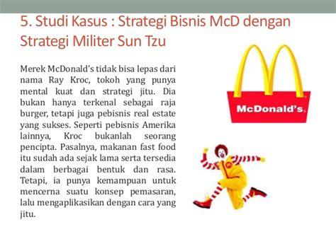 penggunaan strategi militer dalam bisnis