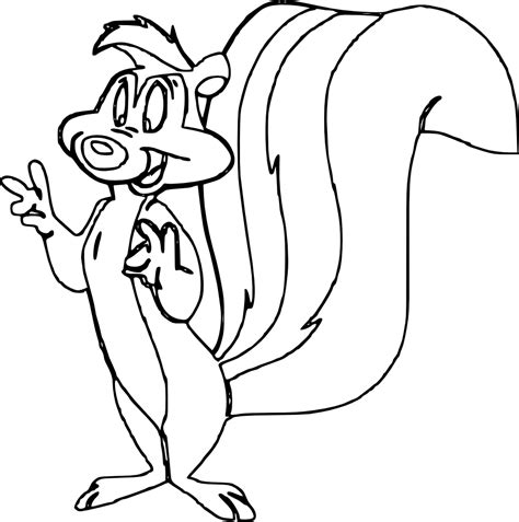 pepe le pew coloring pages az coloring pages