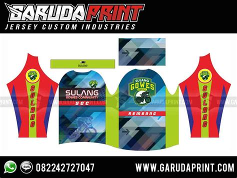 produsen jersey sepeda gunung gradasi garuda print