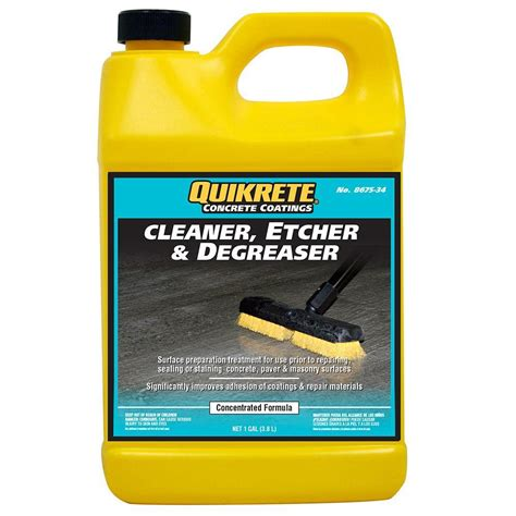 quikrete 1 gal cleaner etcher and degreaser 867534 the