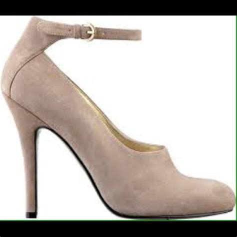 light grey suede pumps 72 nine shoes light gray suede pumps from
