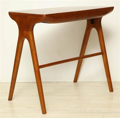 small cherry wood desk small mid century cherry wood desk with matching chair circa 1960 for sale at 1stdibs