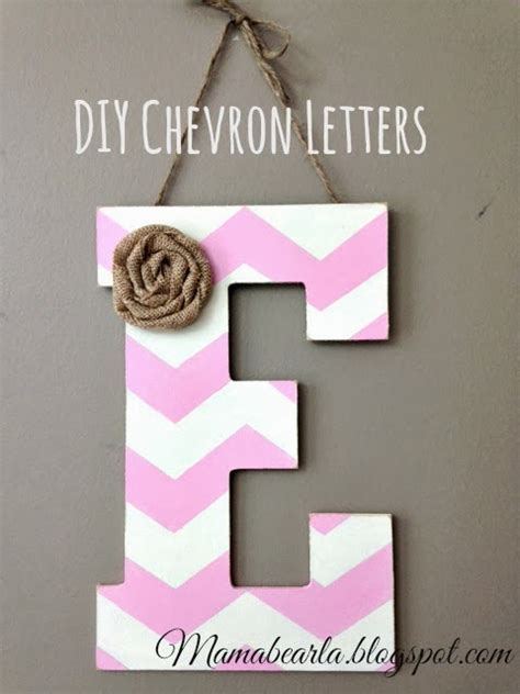 lifestyle cafe alphabet letters for unusual home decor musings of a mama bear how to make chevron letters