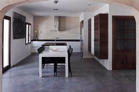 pavimenti ecologici per interni pavimenti in cemento spatolato per interni pavimento moderno
