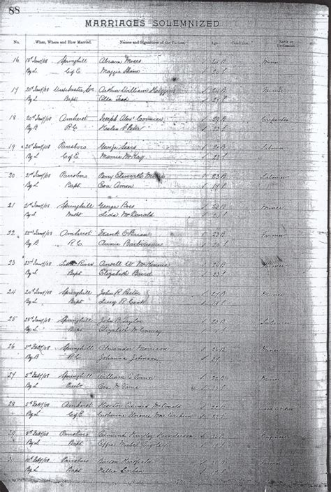 Scotia Marriage Records Scans Of The Cumberland County Scotia Marriage Records 1906 1908