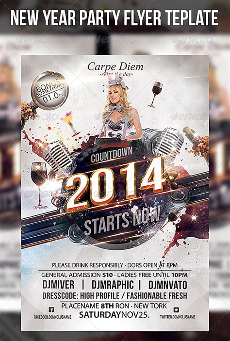 20 Firework Flyer Template Psd Images Fireworks Flyer Template Psd Flyer Templates And New Year Flyer Template Free