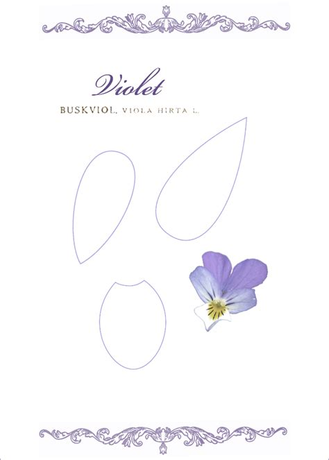 How To Make Paper Violets - kell studio how to make a paper violet flower