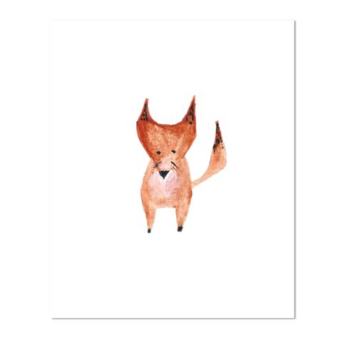 sorelle paper amp prints the paint shop watercolor fox
