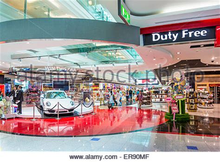 emirates duty free duty free shop at dubai international airport stock photo